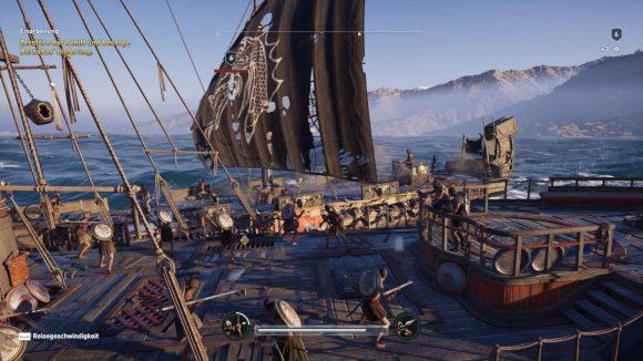Schiffkampf in Assassin's Creed Odyssey