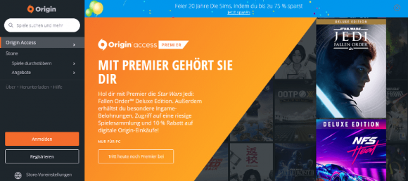 EA Origin Access