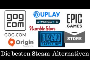 Die besten Steam Alternativen