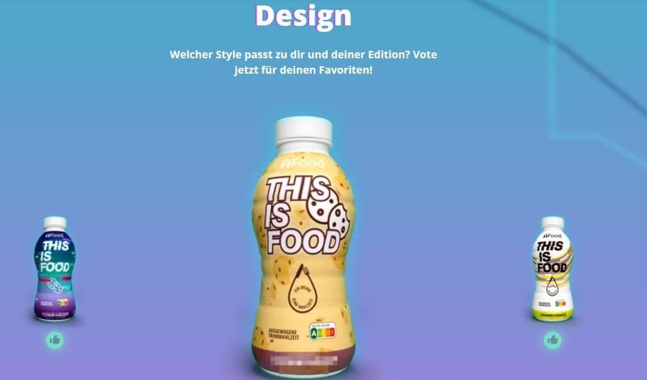 YFood Gaming Editon drei Designs zur Auswahl